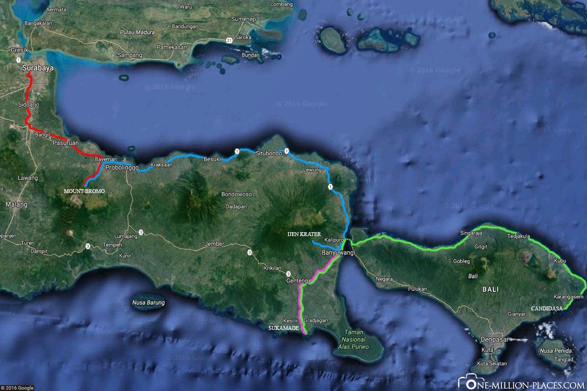 Tour, Java, 4 Tage, Indonesien, Reisebericht