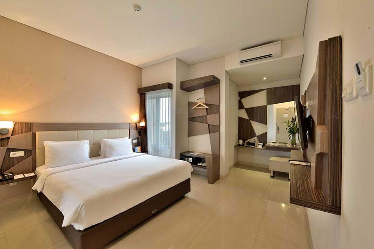 Zimmer, Hotel Dafam Fortuna Malioboro, Yogyakarta, Indonesien, Reisebericht