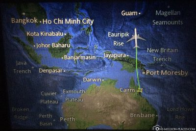 Von Australien nach Japan