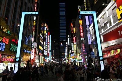 Der Stadtteil Shinjuku