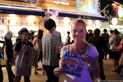 Die Oktoberfestband in Tokio