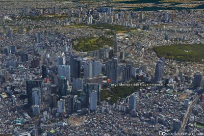Das Metropolitan Government Building in Google Earth