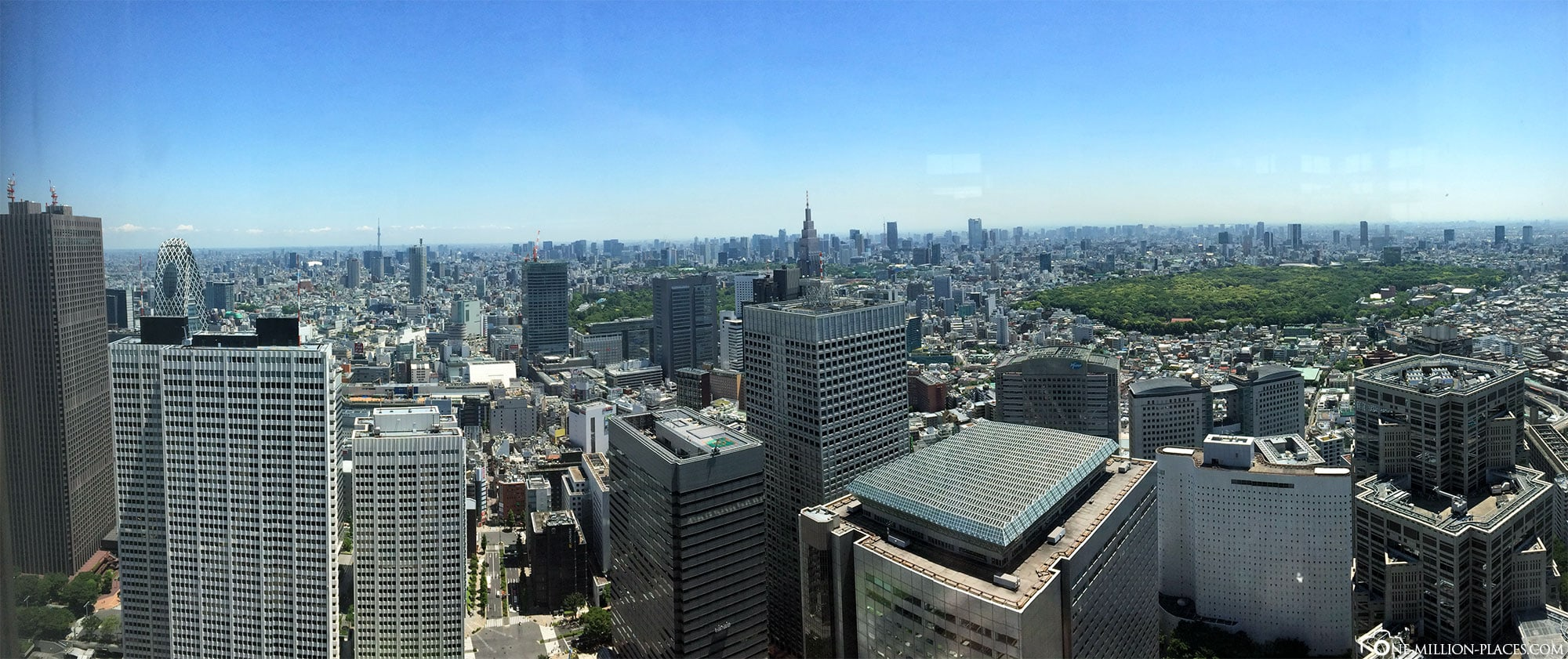 Panoramic view, Tokyo, Japan, Attractions, On Your Own, City Tour, Travelreport
