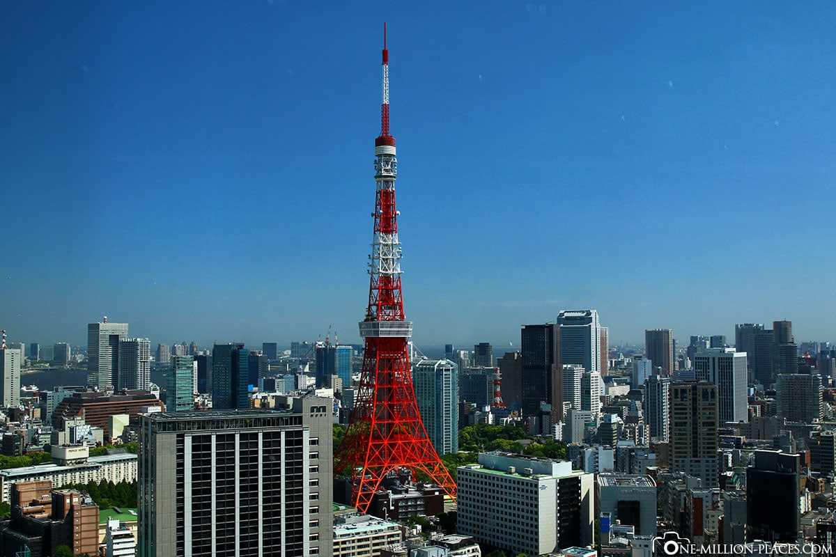 Tokyo Tower, Tokyo, Japan, Attractions, On Your Own, City Tour, TravelReport