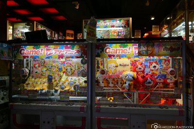 Spielhallen in Tokio