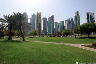 Die Corniche in Doha