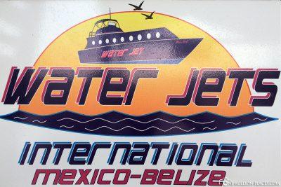Wassertaxi von Belize nach Mexiko