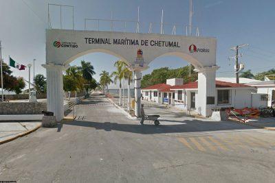 Der Hafen von Chetumal