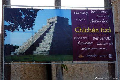 Willkommen in Chichen Itza