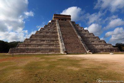 Die Pyramide des Kukulcán