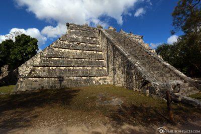 Die Ruinen der Mayastätte