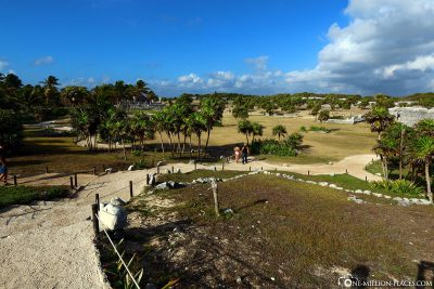 Tour of the Mayan site