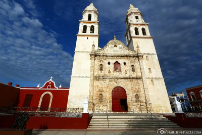 The Cathedral in Campeche