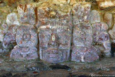 The Mayan site of Edzna