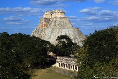 The view from the main pyramid