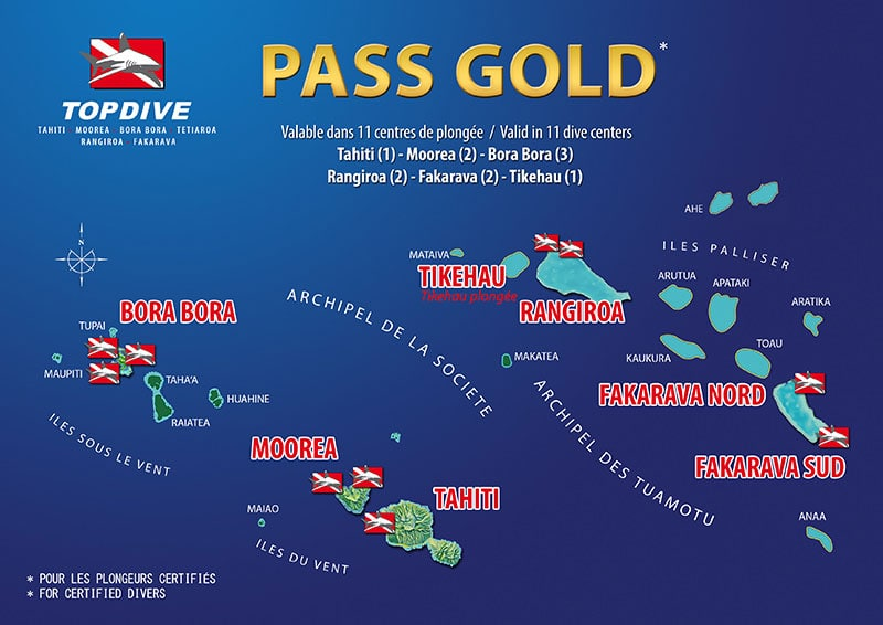 Inter-Island Gold Pass, Moorea, Diving, Topdive, French Polynesia, South Seas, Travel Report