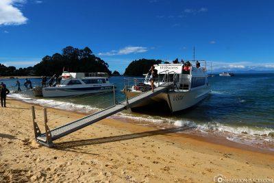 Start der Bootstour