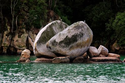 The Split Apple Rock
