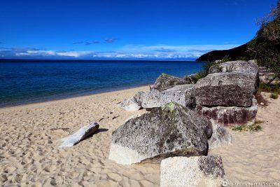 Der Strand von Tonga Quarry