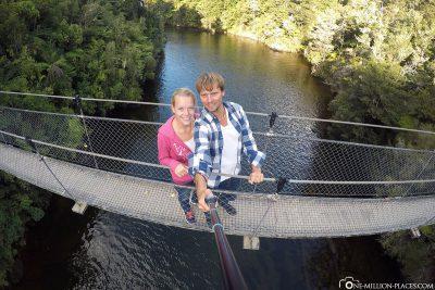 Die Falls River Swing Bridge