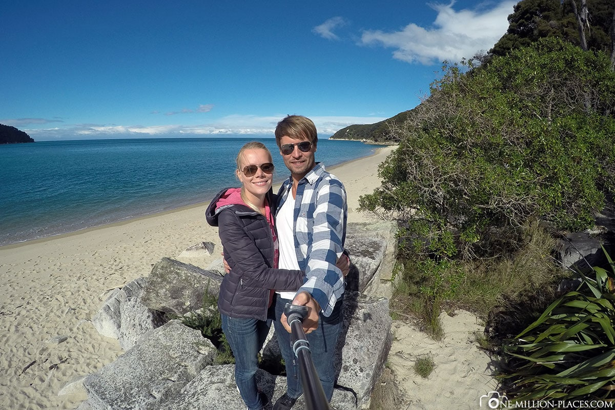 Strand, Abel Tasman Nationalpark, Neuseeland, Nordinsel, Auf eigene Faust, Reisebericht