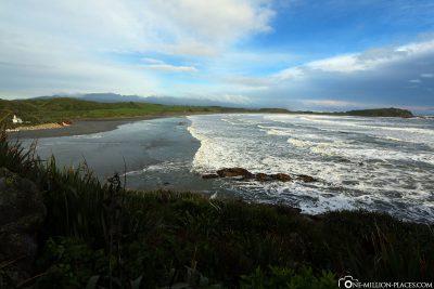 Blick auf die Tauranga Bay