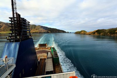 Drive through the Queen Charlotte Sound