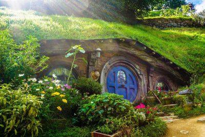 Das Hobbit Town in Neuseeland