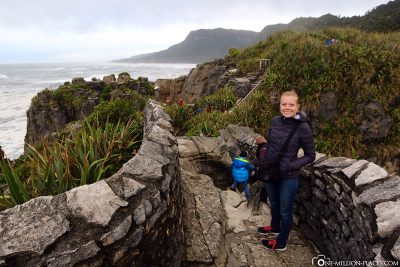 The Pancake Rocks in Paparoa National Park