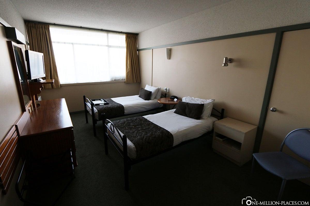 Rydges Lakeland Resort Hotel, Queenstown, Neuseeland, Südinsel, Auf eigene Faust, Reisebericht