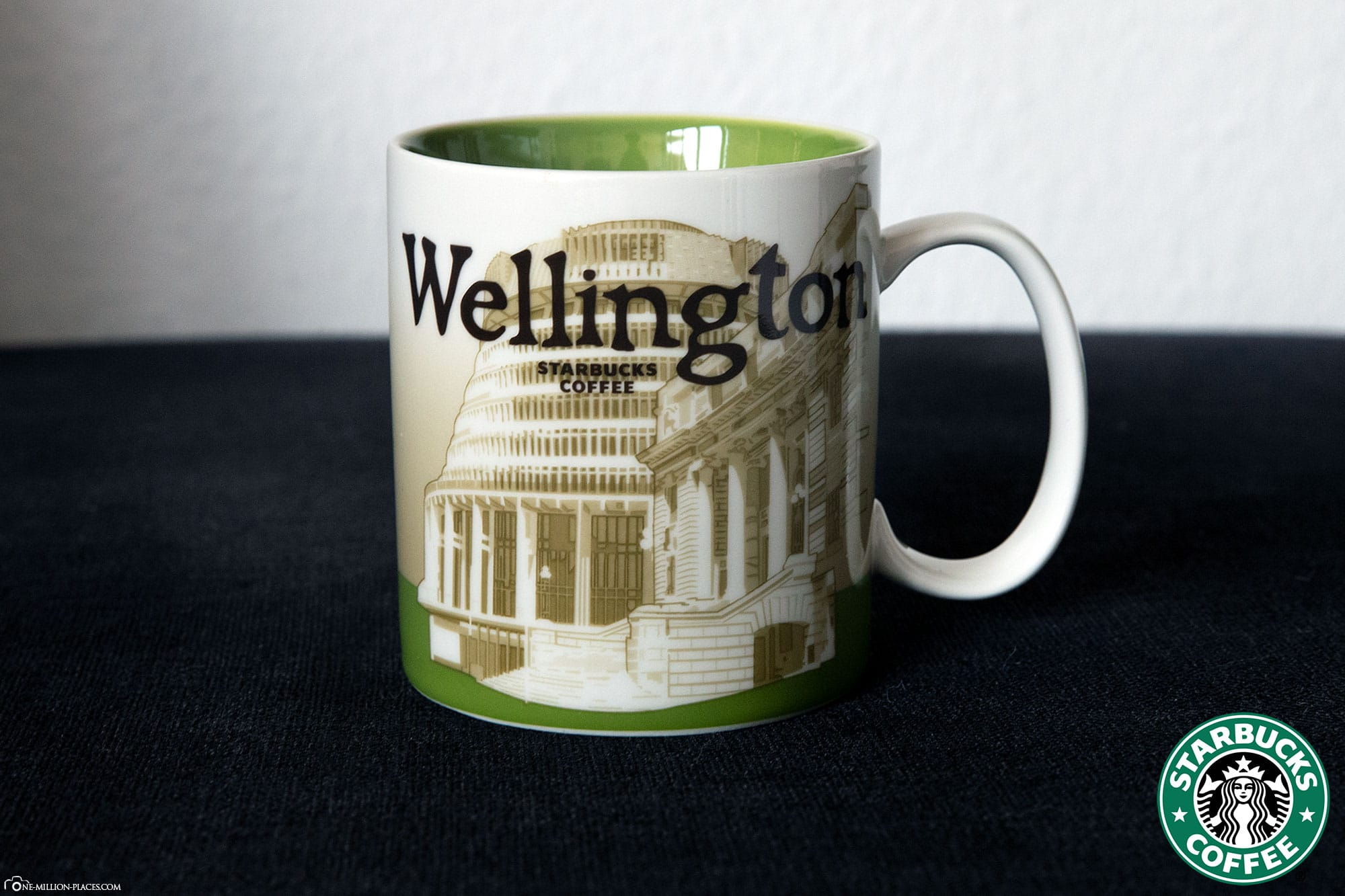 Wellington, Starbucks Cup, Global Icon Series, City Mugs, Collection, New Zealand, Travelreport