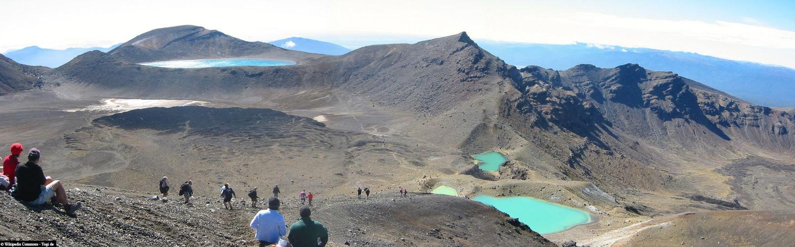 Tongariro Alpine Crossing, Neuseeland, Nordinsel, Reisebericht