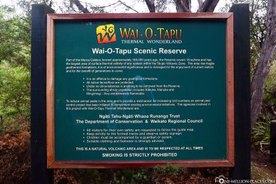 Welcome to Wai-O-Tapu