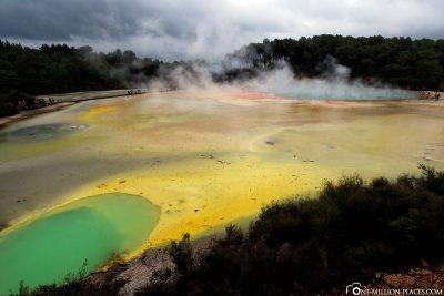 The great colours of Wai-O-Tapu