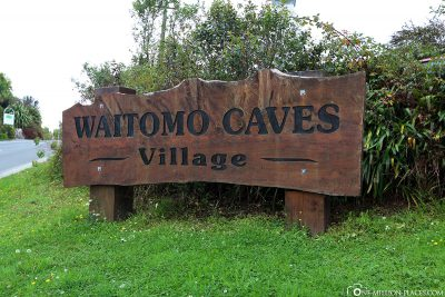 Entrance To get to Waitomo Caves Village