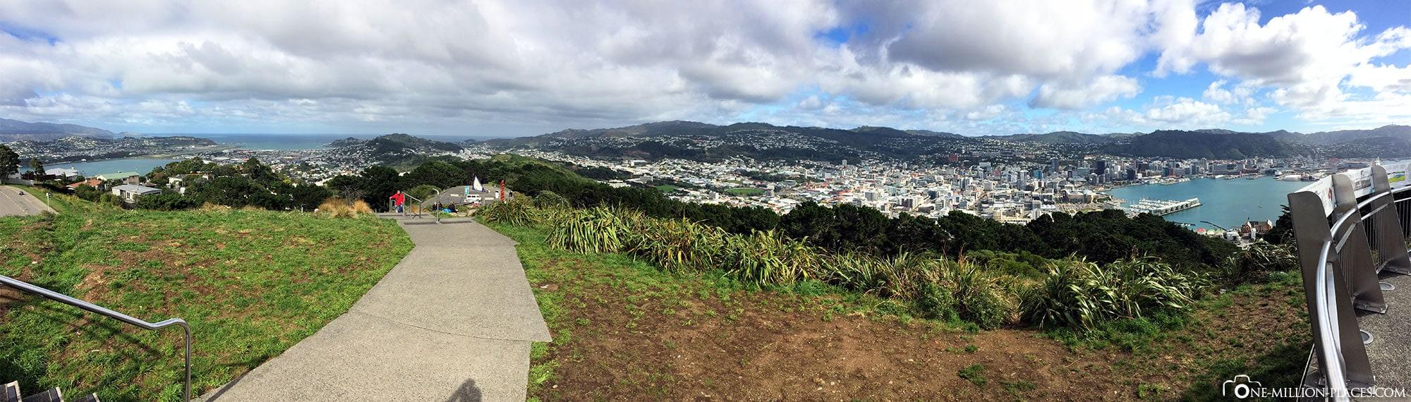 Wellington, Mount Victoria, New Zealand, North Island, On Your Own, Travelreport