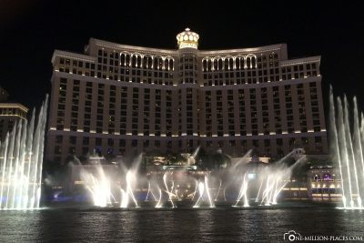 The water games at Hotel Bellagio