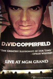 Die David Copperfield Show im MGM Hotel