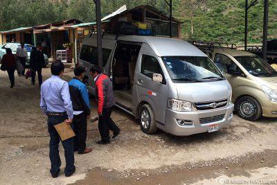 Unser Bus nach Cusco