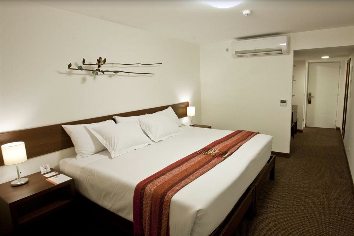 Zimmer im Hotel Tierra Viva Miraflores, Aguas Calientes, Bus, Zug, Cusco, Peru, Reisebericht, Südamerika