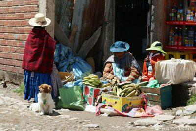 Typischen Gewänder in Bolivien & Peru