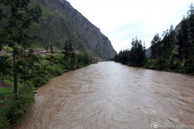 Der Rio Urubamba
