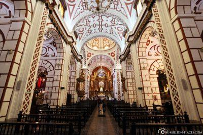 The monastery church of Iglesia de San Francisco