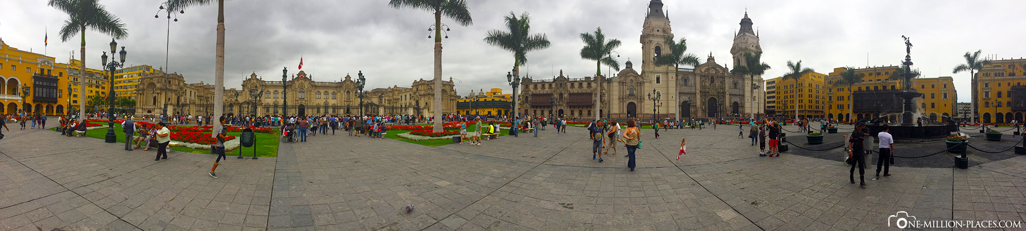 Panoramabild, Lima, Sehenswürdigkeiten, Auf eigene Faust, Peru, Reisebericht, Südamerika