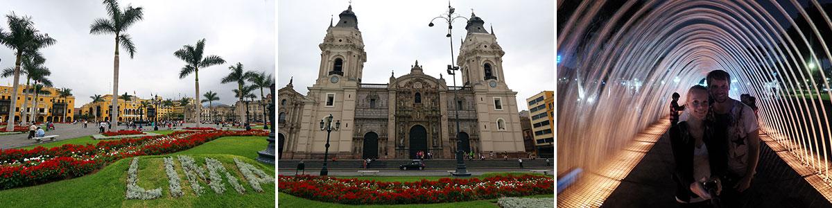 Lima Sehenswürdigkeiten Headerbild