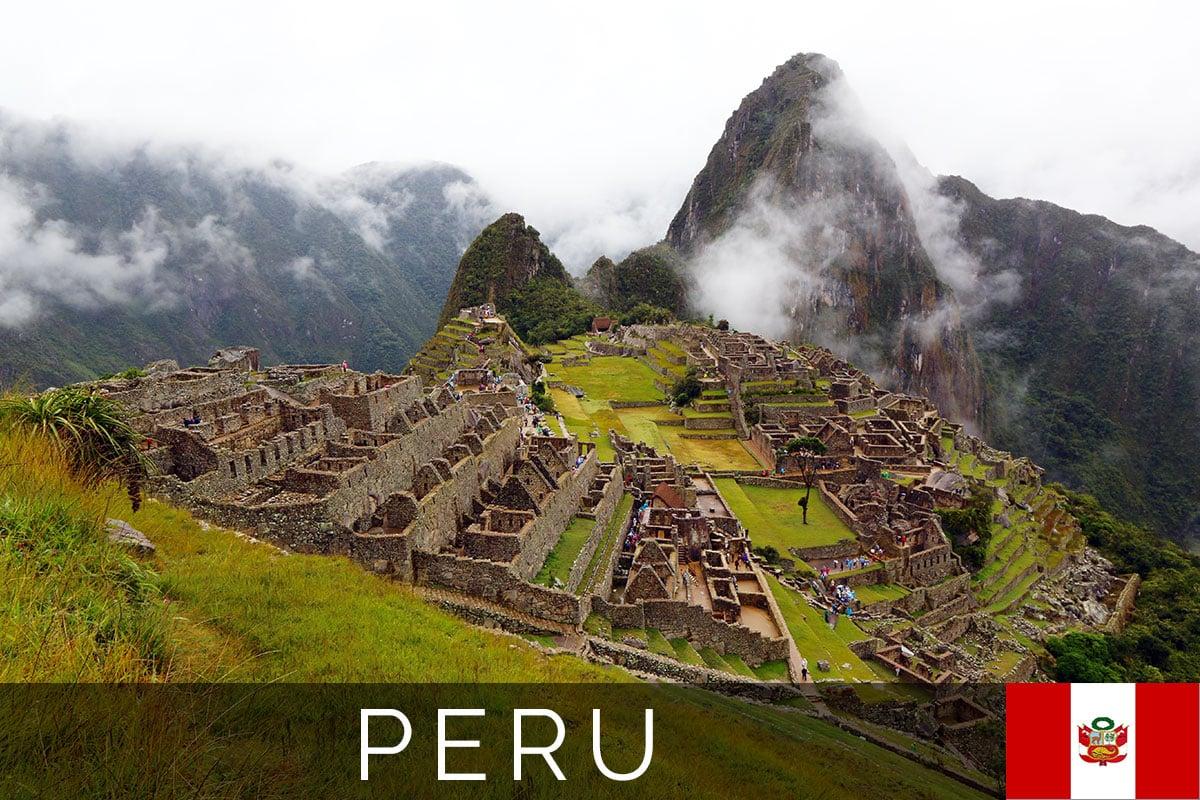 Machu Picchu Titelbild