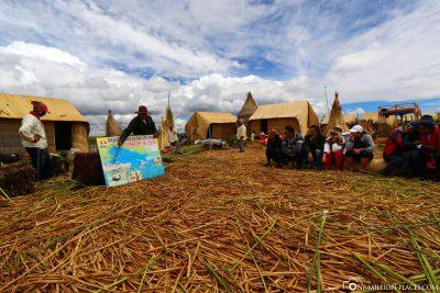 Die schwimmenden Dörfer im Titicacasee