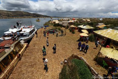 A village of the Uros