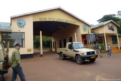 The entrance to Ngorongoro Crater
