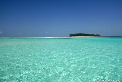 View of Mnemba Island
